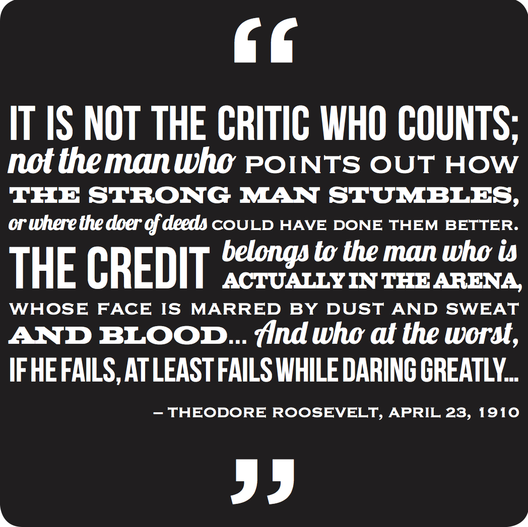 stout quote dare greatly