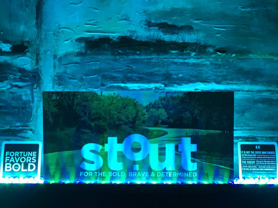 The journey of Stout Magazine began here…