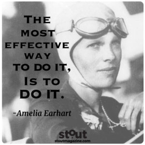 Amelia Earhart do it now