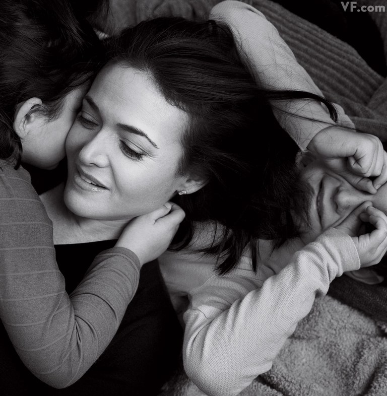Sheryl Sandberg's Stout Mother's Day Call For Supporting Single Moms
