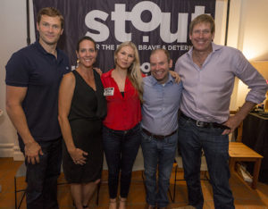 Stout's Doing More With Less Event Panelists Matt Laessig, Christi Hester, Founder of Stout Magazine, Ann Webb and Hugh Forrest