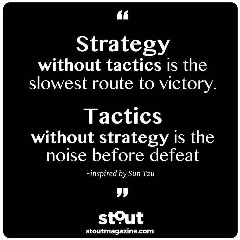 Combine strategy with tactics to take on any challenge