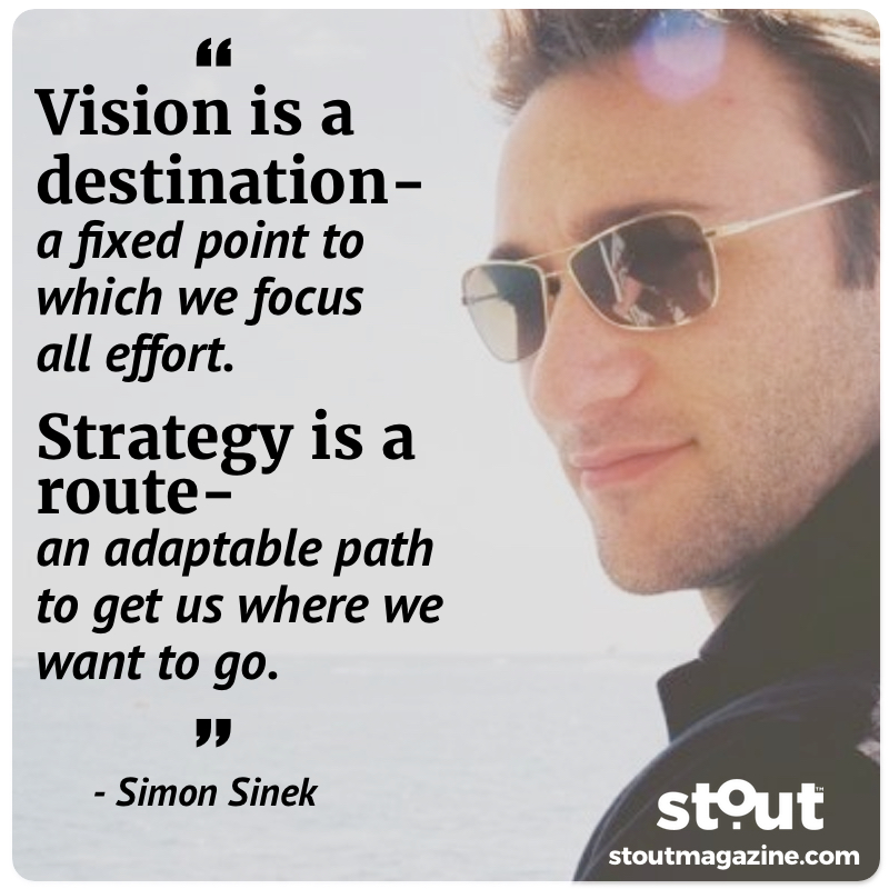 Two keys on your journey to success-Vision and Strategy