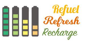 refuel refresh recharge