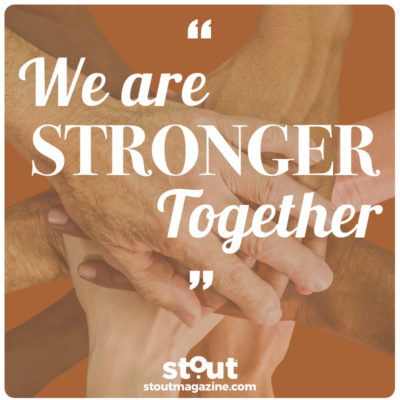 Stay strong, Come Together