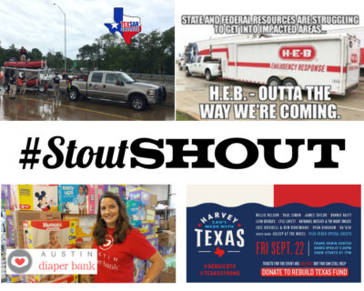 #STOUTShout for Hurricane Heroes