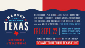 harvey cant mess with texas concert