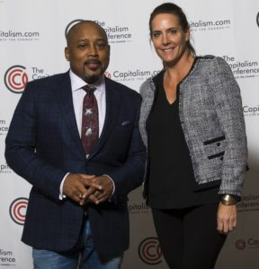 Christi Hester, Stout Magazine founder and publisher with Daymond John, Shark Tank Investor at The Capitalism