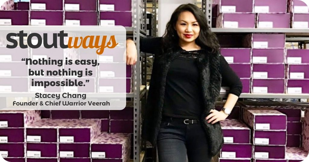 Passion, Purpose and Peels – #Stoutways with Stacey Chang