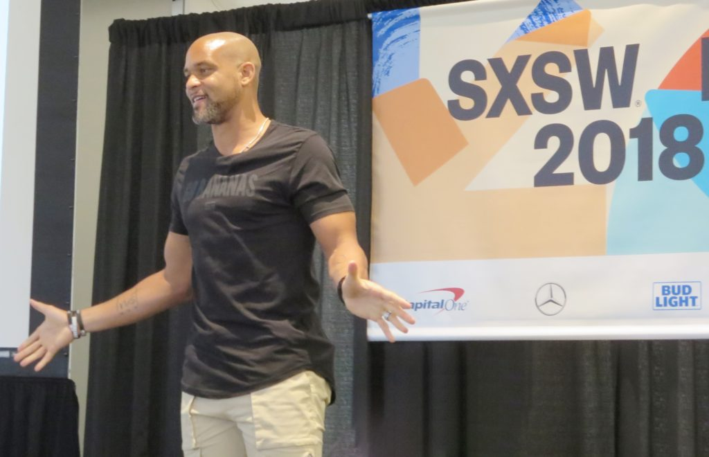 Shaun T Talks transformation at SXSW 2018 in Austin, Texas