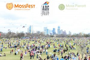 ABC Home and Commercial Services hosts the Zilker Kite Festival & MossFest children's concert honoring Moss Pieratt