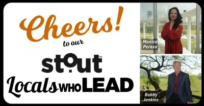 Enjoy a #Stout Happy Hour to Celebrate our Austin Locals Who Lead