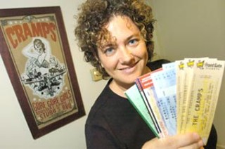 Mellie Price, circa 2004 when she created Front Gate Tickets