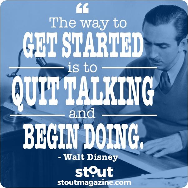Monday Motivation : Don't Just Dream It- Do It!