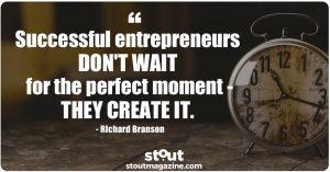 Stout Monday Motivation on Entrepreneurs by Richard Branson