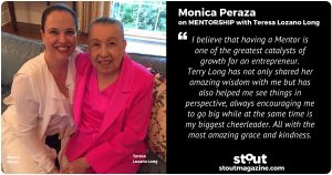 Monica Peraza on MENTORSHIP with Teresa Lozano Long