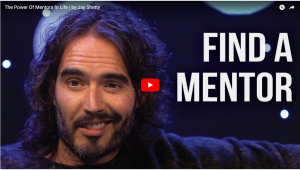 Russell Brand & Jay Shetty Offer A Unique Take On Mentors