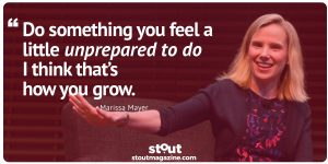 Stout Monday Motivation on Risk And Growth From Marissa Mayer