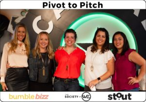 Bumble Bizz, The Society of WE and Stout Magazine brought together a panel of experienced entrepreneurs to share real-life advice on mastering pivots.