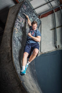 Matt Laessig , American Ninja Warrior competitor (and data.com COO and Co-Founder)