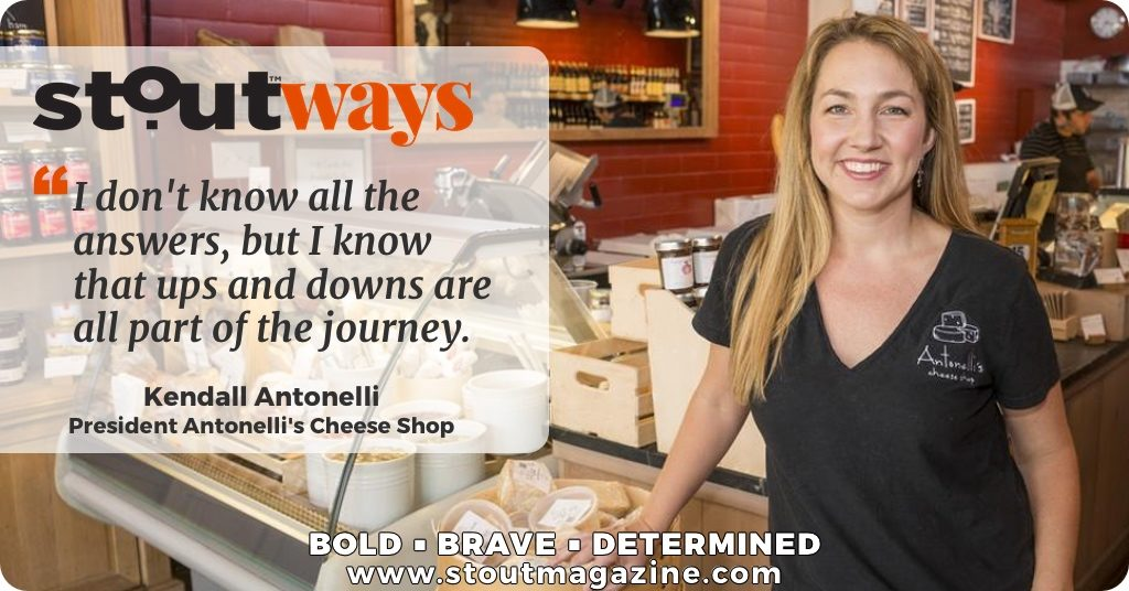 Blessed Are the Cheesemakers: Stoutways with Kendall Antonelli