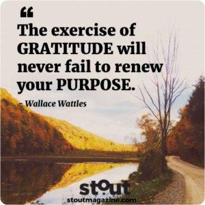 Monday Motivation - Wallace Wattles practice gratitude