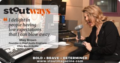 Drop the (Boom) Mic: Stoutways with Shayna Brown