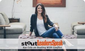 Stout Leaders Speak: Kat Cole on Handling COnflict