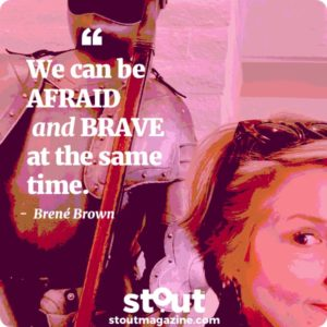 Brené Brown's Dare To Drop Your Armor, Find Your Courage