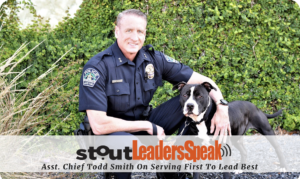 stout leaders speas asst. chief todd smith on serving to lead