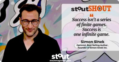 #StoutSHOUT: To Simon Sinek For Fueling Leaders To Thrive Through Change