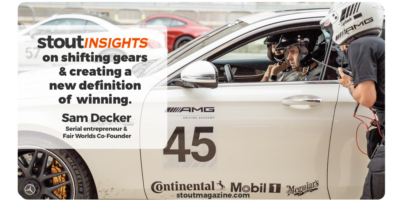 Stout Insights: Same Drive, New Direction — the Reinvention of Sam Decker