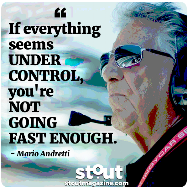 Monday Motivation: Rev Up With Mario Andretti And Pursue Your Next Level