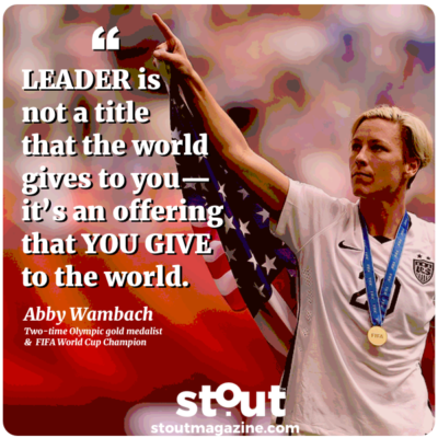 Monday Motivation: Put Yourself In The Game Inspired By Abby Wambach