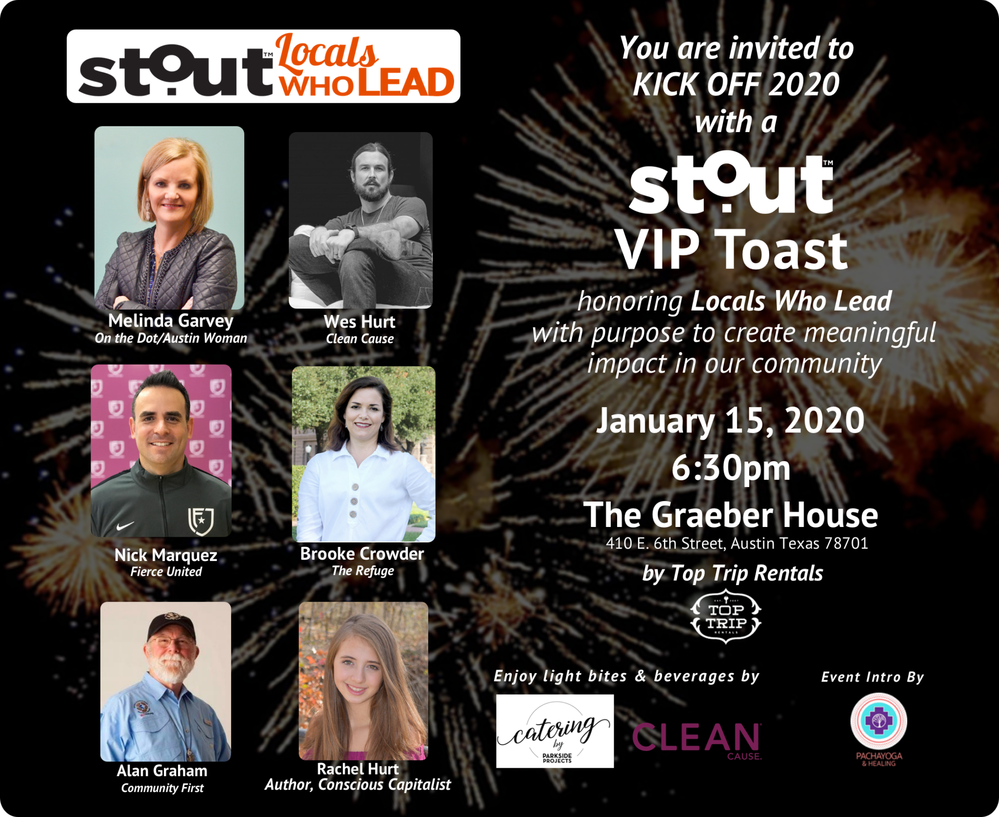 Join Stout Magazine For A VIP Toast Honoring Locals Who Lead